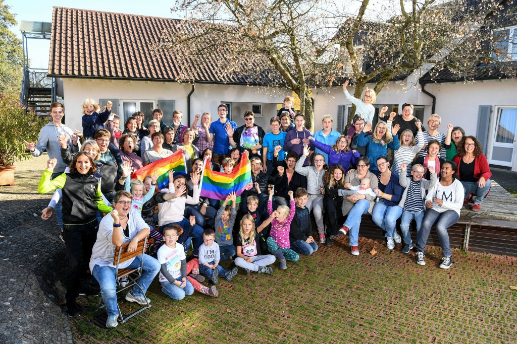 Regenbogenfamilienfreizeit 2017, Foto: Felix Kästle